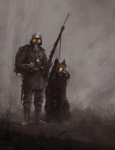 Infantryman Art Print