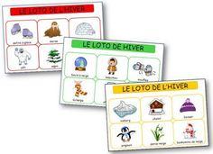 Il est composé de 6 planches et de 36 images. Les enfants pourront ainsi découvrir le champ lexical de l'hiver. Loto hiver maternelle, jeu loto à imprimer gratuit