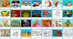 Ausmalbilder und Malvorlagen und Färbung Spiele online