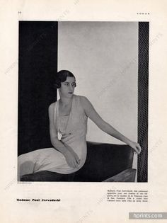 Madeleine Vionnet 1932 Hoyningen-Huene, Mrs Paul Zervudachi