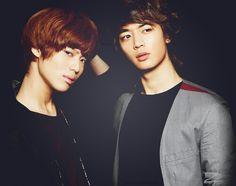 SHINee's Minho and Taemin