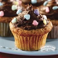 Banana Nut Cupcakes with Chocolate Cream Cheese Frosting from Martha White will sweeten up your Mother's Day celebrations.