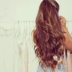 Beautiful hair length