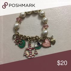 Betsey Johnson Bracelet Charmed Betsey Johnson Bracelet! No shown of wear. PERFECT CONDITION!✨ Betsey Johnson Jewelry Bracelets