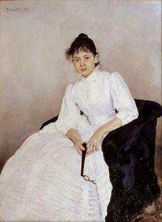 Valentin Alexandrovich Serov - Portrait of Maria F. Jakuntjikova - Google Art Project - Серов, Валентин Александрович — Википедия