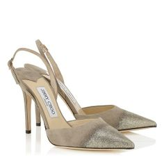 The Jimmy Choo Tarida Pump  - for us Going Down Slow Boomers, so glad to see reasonable heels again. Boy am I glad I didn't throw them all away. So much of what's old is new again!!!!