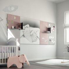 02-11-2015 07:00:01-''Flexibele wandpanelen die je zelf ontwerpt en samenstelt. Dus weg met die saaie muren!'' Wij hadden het niet beter kunnen verwoorden ;). Lees de blog van Fabmama over Stylepads! Girl Room, Baby Room, Kids Bedroom, Bedroom Ideas, Floating Nightstand, Cribs, Toddler Bed, Sweet Home, Gallery Wall