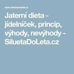 Jaterní dieta - jídelníček, princip, výhody, nevýhody - SiluetaDoLeta.cz