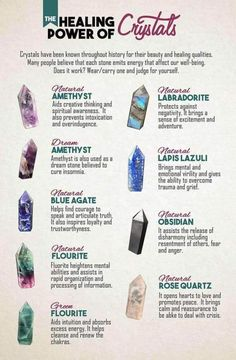 The Healing Power of Crystals
