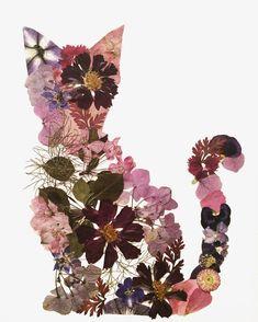 Cat lady....flower lady... #AllOfTheAbove  . New cat print coming Mid October! Www.gypsyskulls.com . . . . #Art #abm…