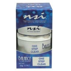 NSI Balance UV Gel One Step Clear ** Check out this great product. (This is an affiliate link) Hair Gel, Uv Gel, Natural Nails, First Step, Cooking Timer, Nail Care, Body Care, The Cure, Health And Beauty