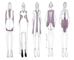 ISSA GRIMM: Concept Sketches #fashionillustration #fashiondesign