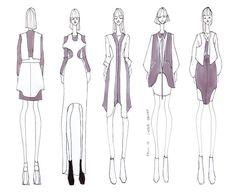 ISSA GRIMM: Concept Sketches #fashionillustration #fashiondesign