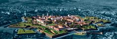Alba Iulia citadel! Built in stellar shape! The only Vauban fortress in Romania!