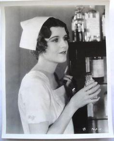 JUNE COLLYER Vintage 1929 THE LOVE DOCTOR NURSE PORTRAIT HENDRICKSON Stamped