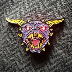 #Repost @ugliegram  The Terror Dog pins are finally ready and up in my webstore. So crazy seeing my vision come to life and can't wait to see them out in the world.  Search pluguglie.storenvy.com or follow the link found in my account description.