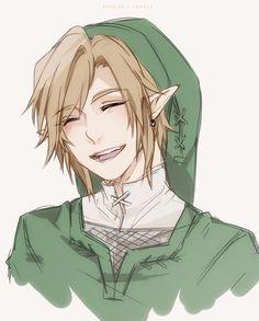 link, anime, and Legend of Zelda-bild