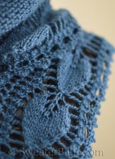 Open Hearts Shawlette pattern. Available now. #knitting #SweaterBabe.com.
