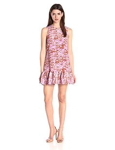 Cynthia Rowley Women's Oversized Dress, Violet, 4- #fashion #Apparel find more at lowpricebooks.co - #fashion