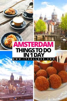 Amsterdam Places To Visit, Amsterdam What To Do, Amsterdam Itinerary, Amsterdam Travel Guide, Cool Cafe, Plan Your Trip, Places To Eat, Stuff To Do, Travel Tips