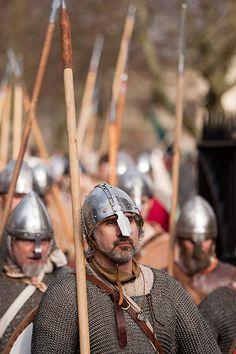 Jorvik Viking Festival: Yes, we have vikings. Larp Armor, Medieval Armor, Viking Life, Viking Warrior, Norse People, Vikings Tv Show, Viking Culture, Viking Clothing, Early Middle Ages