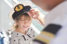 At Superfast Ferries, every child is the protagonist of the journey! Swimming Pools, Captain Hat, Journey, In This Moment, Children, Board, Fun, Swiming Pool, Young Children