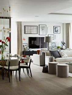 Shades Of Grey White Taylor Howes Trevor Square Apartment London Find This Pin And More On Decoracion Interiors