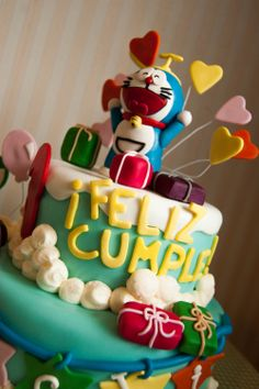 Doraemon Cake #doraemon #tarta #cake #bakery #pastry #bdaycake