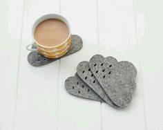 Raincloud coasters