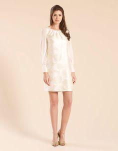 $236 white tunic dress