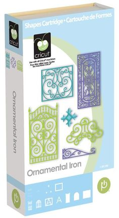 Cricut® Ornamental Iron Cartridge frame also used this cartridge, no price listed