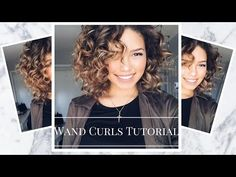 How To Achieve Perfect Curls for Curly Hair | Ashley Bloomfield - YouTube