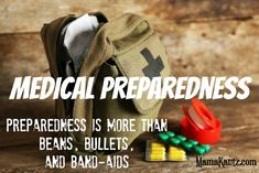 Medical Preparedness~Preparedness is more than Beans, Bullets, and Band-aides. This is the third post in the series. You can also read about Physical Preparedness and Spiritual Preparedness. The title says prepping is more than beans, bullets, and band-aides, then I go an write about medical preparedness. This post isn't about the …