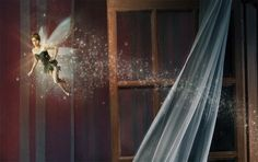 Tina Fey as Tinkerbell - a portrait by Annie Leibovitz