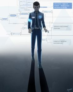 Detroit become human   DBH  Connor
