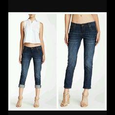 NWT Kut From the Kloth Katy Boyfriend Jeans Size 14 Distressed ...