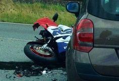Darum ist eine Unfallversicherung sinnvoll für Motorradfahrer: 25 Prozent aller verunglückten Biker erleiden durch Mehrfachanprall schwere Polytrauma.
