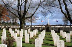 Groesbeek Canadian War Cemetery and Memorial, Netherlands
