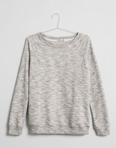 Basic BSK terry round neck jumper - Jumpers - Bershka Indonesia