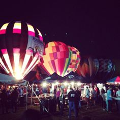 The Great Forest Park Balloon Glow -  This event takes place the night before the big balloon race. Bring a blanket and watch all the balloons light up at the same time.  Lots to do and food too.