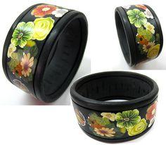 Polymer clay bracelet   Tami Shvat   Flickr