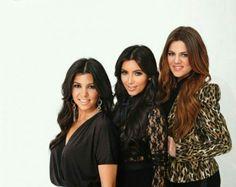 Kourtney, kim, and Khloe kardashian