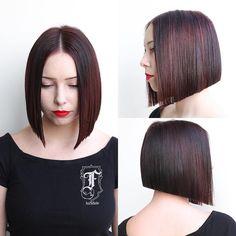 Die 599 Besten Bilder Von Bob Bob Hairstyles Hair Style Und Short