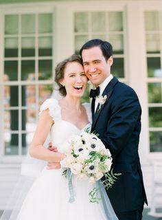 BEST BOUQUET - Blus Floral Design, CT Garden Party Wedding by Tanja Lippert, Part 1 - Southern Weddings