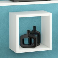 Square Floating Decorative Shelf
