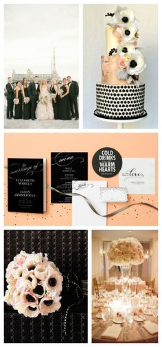 Modern luxe never look better! Paper goods by @weddingpaper
