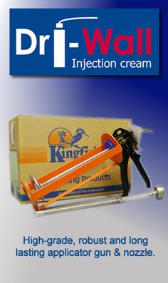 If You Are Looking For A Highly Durable Licator Gun Look No Further Than Kingfisher This Premium Grade Damp Course Injection Kit Makes Injecting