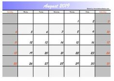 This time we give you 5 August 2019 calendar designs in the 2 most searched formats, jpg and calendar images in pdf format. The design of this calendar we made for you will hopefully be useful for you August Calendar, Blank Calendar, Calendar Printable, Printable Designs, Free Printables, Calendar Design, One Design, Social Media, Templates