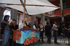 muestra del pan de fiesta en el palacio legislativo de Tlaxcala este alimento tiene su máximo representante en las poblaciones de San Juan Totolac y Huahuctzingo
