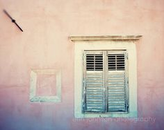 dubrovnik croatia photography travel photography europe wall art window photo europe pink home decor D19 by eireanneilis